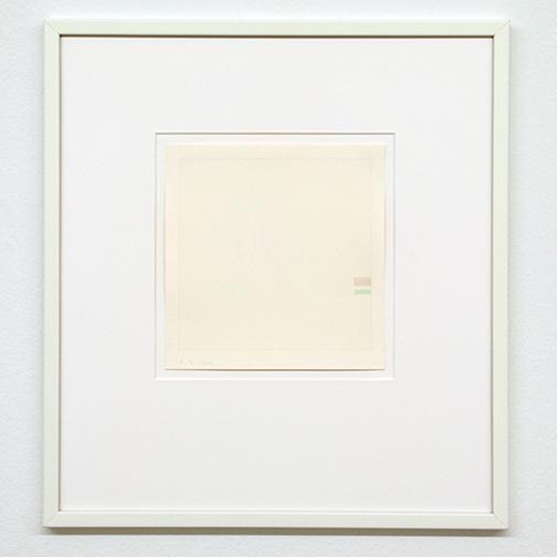 Antonio Calderara / Senza titolo  1972 16 x 15.5 cm pencil and watercolor on paper