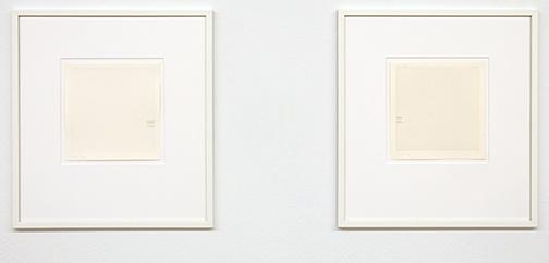 Antonio Calderara / Senza titolo  1972 16 x 15.5 cm pencil and watercolor on paper  Senza titolo  1972 16 x 15.5 cm pencil and watercolor on paper