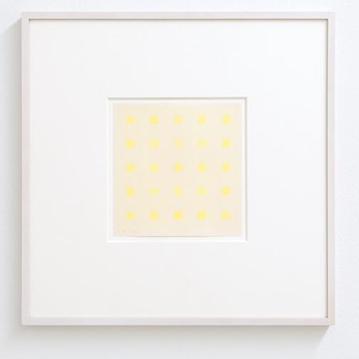 Antonio Calderara / Senza titolo  1970 14.8 x 14.2 cm Bleistift und Aquarell auf Papier