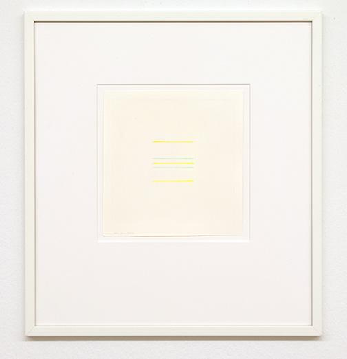 Antonio Calderara / Senza titolo  1973 16 x 15.5 cm pencil and watercolor on paper