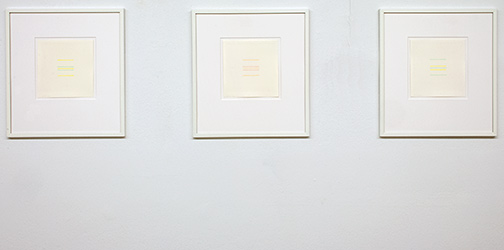Antonio Calderara / Senza titolo  1973 16 x 15.5 cm Bleistift und Aquarell auf Papier Senza titolo  1973 16 x 15.5 cm Bleistift und Aquarell auf Papier Senza titolo  1973 16 x 15.5 cm Bleistift und Aquarell auf Papier