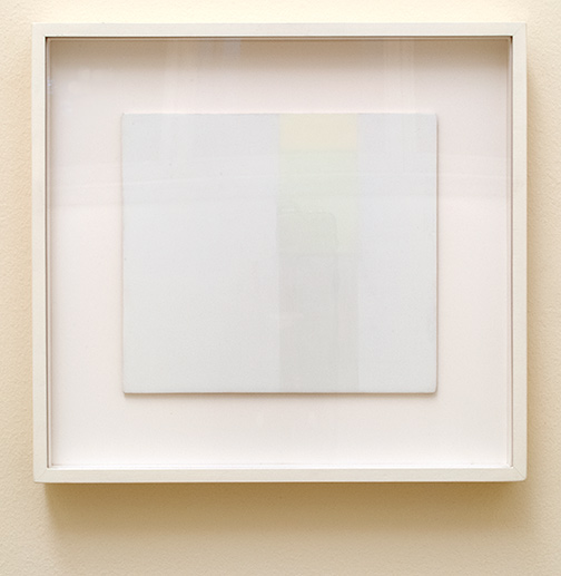Antonio Calderara / Spazio luce  1960 24 cm x 27 cm Öl auf Holz