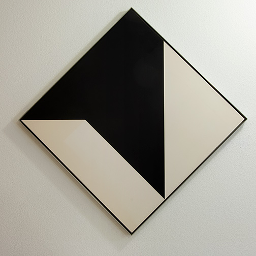 Andreas Christen / Andreas Christen Ohne Titel  1960  99 x 99 cm resin on masonite