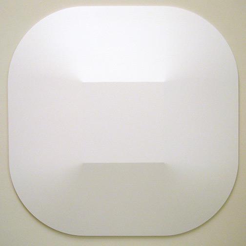 Andreas Christen / Monoform  1961 149 x 149 cm Polyester weiss gespritzt