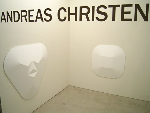 Andreas Christen / Werke/Works 1959 – 2005