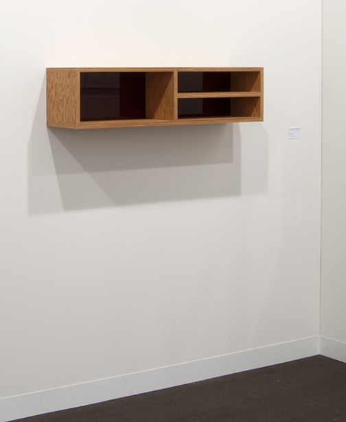 Donald Judd / Donald Judd Untitled  1992 plywood and amber plexiglass (PB 92-6) 25 x 25 x 100 cm