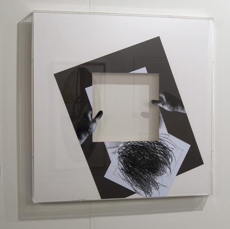 Giulio Paolini / Giulio Paolini L'ombra del vuoto  2009 80 x 80 cm Collage auf Papier