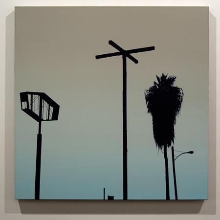 Glen Rubsamen / Glen Rubsamen like a snapshot of life after death  2011 90 x 90 cm Acrylic on linen