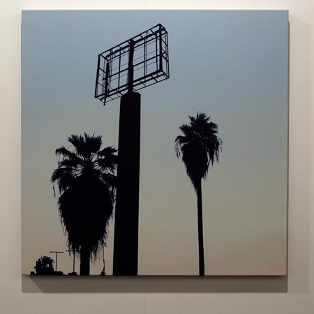 Glen Rubsamen / Glen Rubsamen don't let the sun catch you crying  2011 90 x 90 cm Acrylic on linen