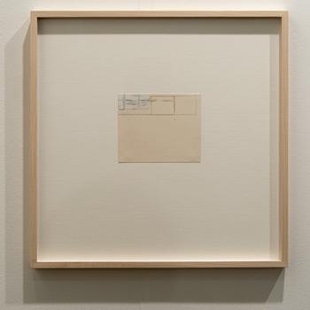 James Bishop / James Bishop Untitled  2011 11.3 x 13.5 cm Oil and crayon on paper