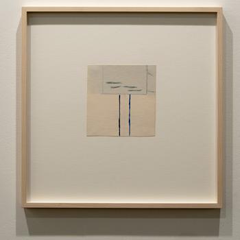 James Bishop / James Bishop Untitled  2011 15.5 x 15.5 cm Oil and crayon on paper