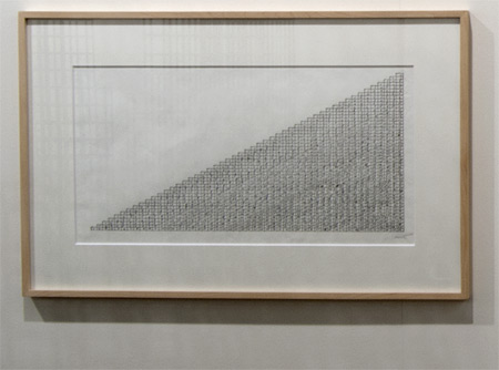 Sol LeWitt / Sol LeWitt Concrete Block Structure  1996 33.4 x 61 cm ink on paper