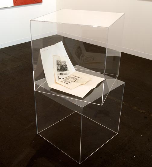 Giulio Paolini / Giulio Paolini Senza titolo (della serie dei «Disegni»)  1964 Zwei Blätter, 65,3 x 50 cm Tinte, Papier, Kupferstich