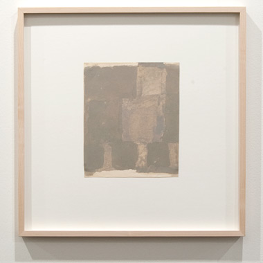 James Bishop / James Bishop Untitled  2010 21 x 17,5 cm oil on paper