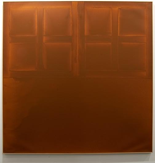 "James Bishop / James Bishop State  182,7 x 183 cm / 72 x 73 "" oil on canvas"