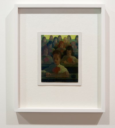 Antonio Calderara / Antonio Calderara Pittura 28 - Scuola  1951-1954 18 x 14 cm Oil on woodpanel