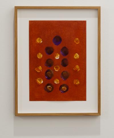 Joseph Egan / Joseph Egan emanare  2013 23 x 16 cm Oel auf Papier mit Rahmung