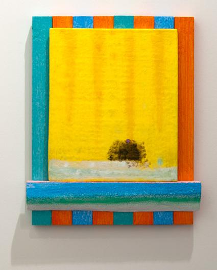 Joseph Egan / Joseph Egan phoenix  2013 40 x 33 x 4,5 cm Painted wood and painted panel