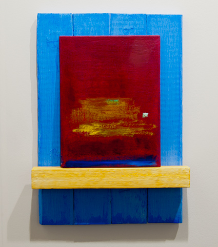 Joseph Egan / Joseph Egan phoenix  2012 56 x 38 x 8 cm Painted wood and painted panel
