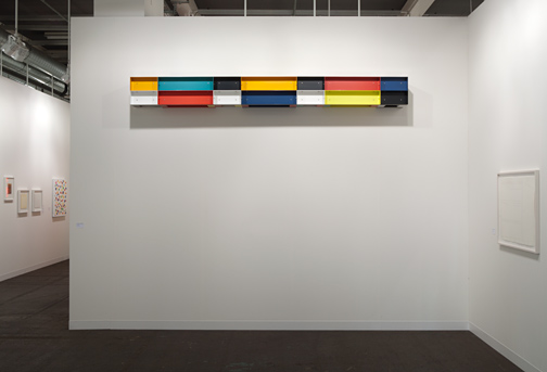 Donald Judd / Donald Judd Untitled (85-037)  1985 30 x 300 x 30 cm Aluminium, emailliert