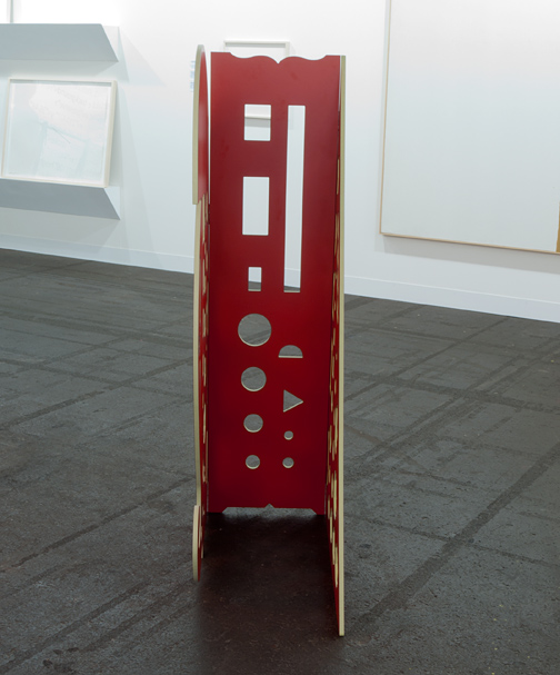 Rita McBride / Rita McBride Stratacolor  2008 121,9 x 86,4 x 50,8 cm gefrästes Kernverbund-Laminat auf Holz Edition 1 of 2