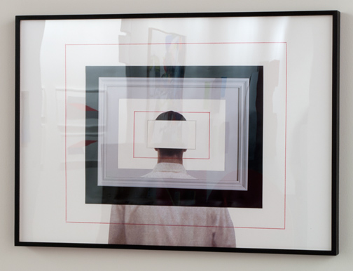 Giulio Paolini / Giulio Paolini   Studio per «Dopo tutto»  2009 50 x 71 cm Fotografie, Farbstift und Collage auf Papier