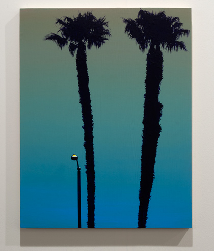 Glen Rubsamen / Glen Rubsamen it?s it  2013 45,7 x 35,6 cm Acrylic on panel