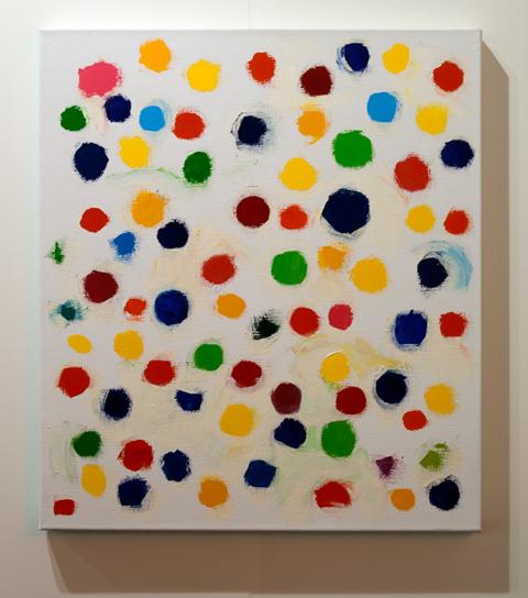 Jerry Zeniuk / Jerry Zeniuk Untitled (Mooseurach)  2008 80 x 70 cm Oel auf Leinwand