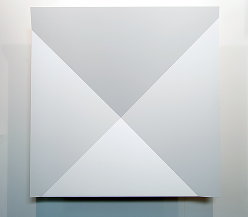 Andreas Christen / Andreas Christen Untitled  1998  140 x 140 cm MDF-Platte gespritzt