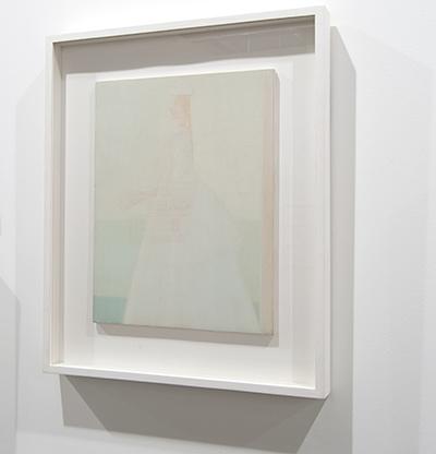 Antonio Calderara / Antonio Calderara Romantica (La Sposa)  1958  35 x 27 cm Oil on wood panel