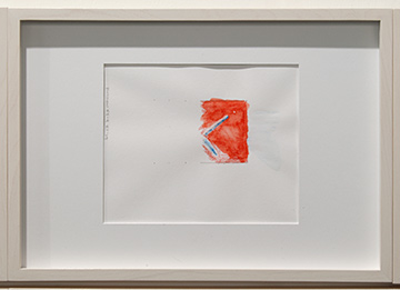 Richard Tuttle / Richard Tuttle Division # I – 1-7 RT'14  2014  Each: 22 x 31 cm Mixed media on paper