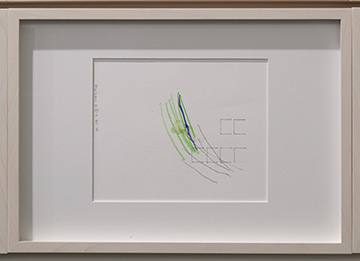 Richard Tuttle / Richard Tuttle Division # III – 1-7 RT'14  2014  Each: 22 x 31 cm Mixed media on paper