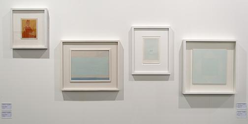 Antonio Calderara / Antonio Calderara, Installation view