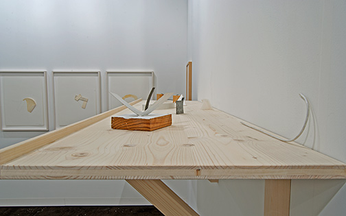 Richard Tuttle / Richard Tuttle, Small Sculptures of the 70s Installation view
