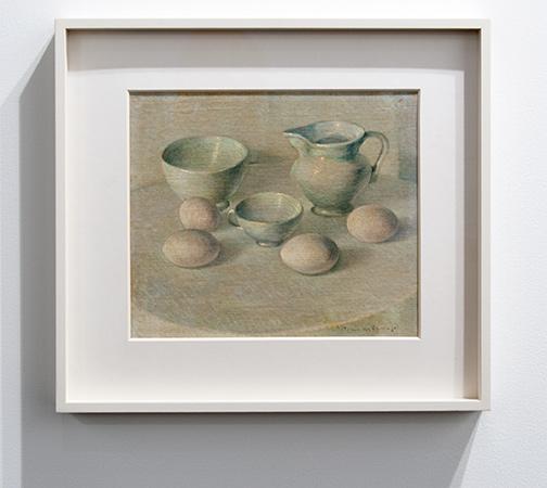 Antonio Calderara / Antonio Calderara Senza titolo  1942 23,8 x 27,8 cm oil on cardboard
