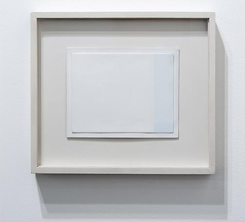 Antonio Calderara / Antonio Calderara Spazio Luce  1959–1960 16 x 20 cm oil on wood panel