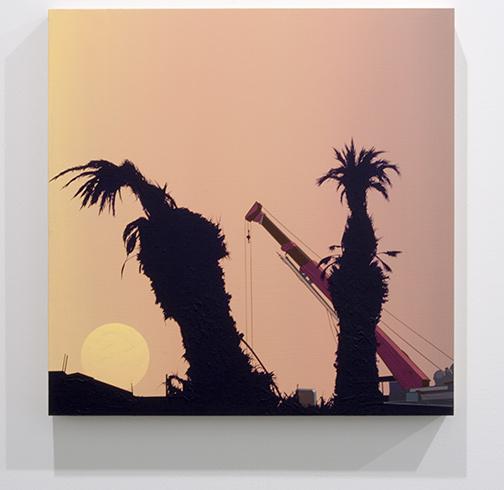 Glen Rubsamen / Glen Rubsamen Irretrievable  2014 50,1 x 50,1 cm acrylic on panel
