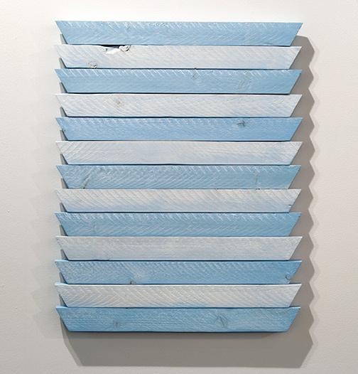 Joseph Egan / Joseph Egan quite quiet  62,5 x 50 x 3 cm oil paints on wood