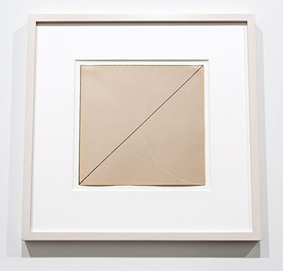 Robert Mangold / Robert Mangold Untitled  1973 22,5 x 22,5 cm pastel and graphite on paper
