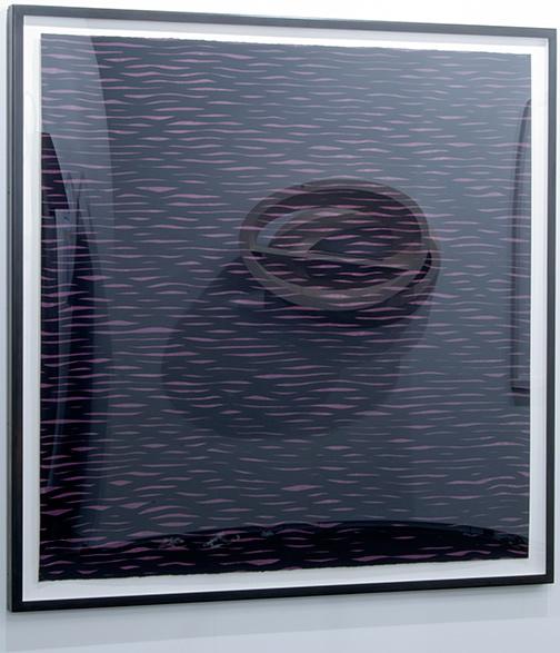 Sol LeWitt / Sol LeWitt Horizontal Lines, Black on Colors  2005 152,4 x 153,7 cm 60 x 60,5 inch gouache on paper