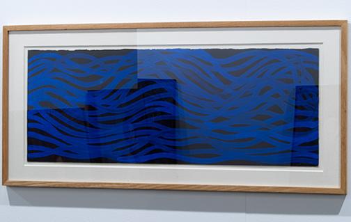 Sol LeWitt / Sol LeWitt Irregular Grid  2001 28,5 x 74,9 cm gouache on paper