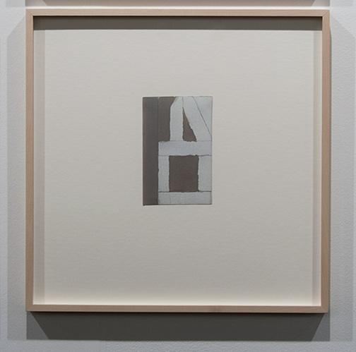James Bishop / James Bishop Untitled  15 x 9.6 cm oil and pencil on paper