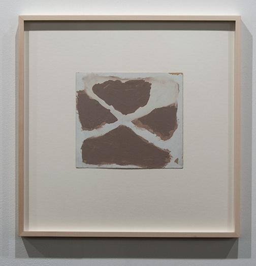 James Bishop / James Bishop Untitled  18.2 x 20.4 cm oil on paper
