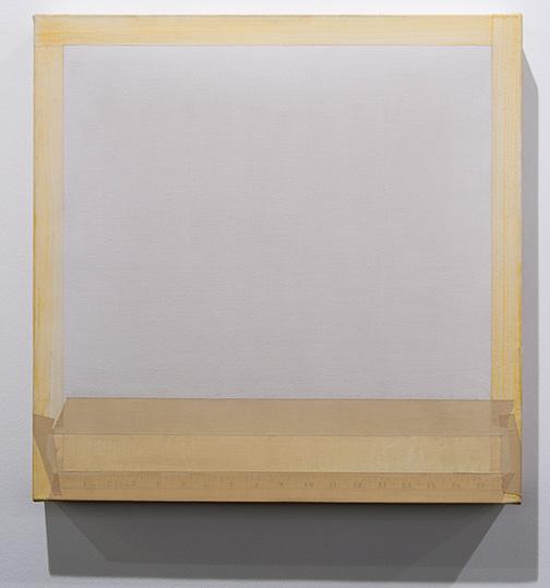 Sylvia Plimack Mangold / Sylvia Plimack Mangold Untitled  1977 51 x 51 cm pencil and acrylic on canvas