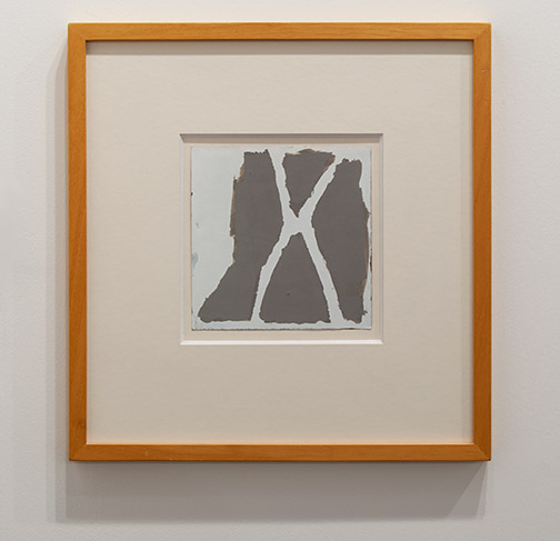James Bishop / James Bishop Untitled  1982 20.6 x 20 cm oil on paper