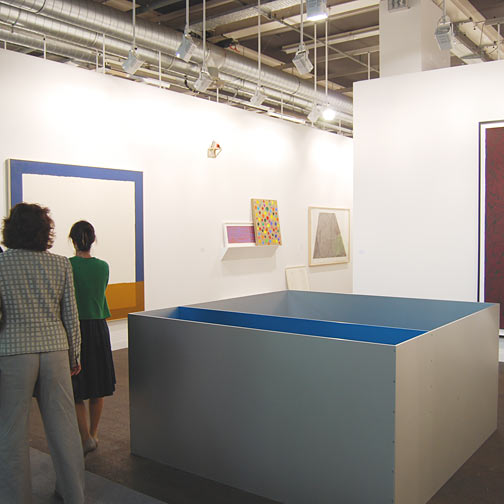 Rita McBride,  				David Rabinowitch,  				Sol LeWitt,  				Donald Judd,  				James Bishop,  				Jerry Zeniuk,  				Robert Mangold,  				Richard Francisco,  				Ree Morton,  				Sylvia Plimack-Mangold,  				Fred Sandback,  				Richard Tuttle,  				Antonio Calderara,  				Andreas Christen,  				Joseph Egan,  				Glen Rubsamen, Art 39 Basel