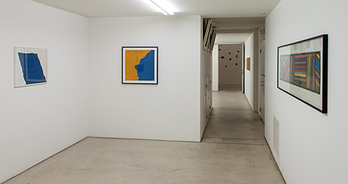 James Bishop,  				Joseph Egan,  				Richard Francisco,  				Giorgio Griffa,  				Sol LeWitt,  				Robert Mangold,  				Sylvia Plimack-Mangold,  				Glen Rubsamen,  				Richard Tuttle, Künstler der Galerie – Werke und Künstler in wechselnder Folge