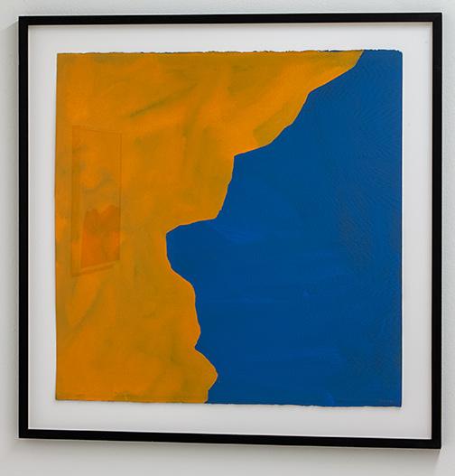 Sol LeWitt / Sol LeWitt Irregular Shape  1997  55.9 x 55.9 cm gouache on paper