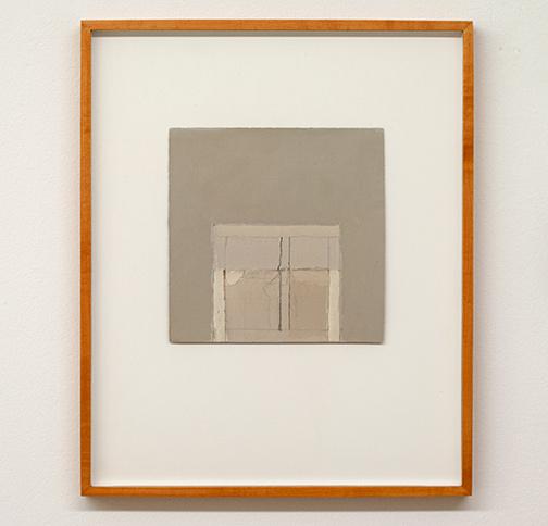 James Bishop / James Bishop Untitled  n.d. 20.5 x 20.5 cm oil and crayon on paper