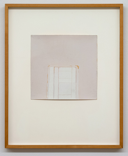 James Bishop / James Bishop Untitled  n.d.  20.2 x 20.9 cm oil and crayon on paper